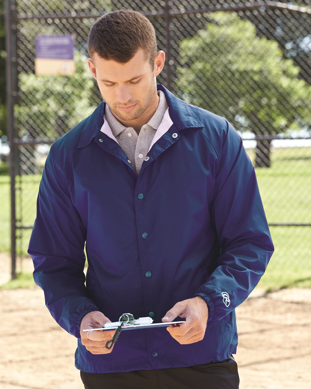 Rawlings 9718 - Nylon Coach's Jacket