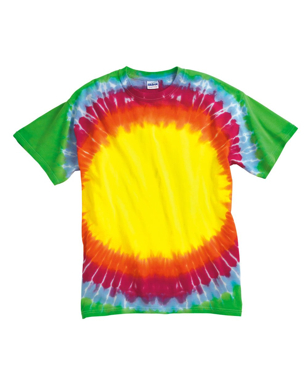 Tie-Dyed 20MSB - Youth Multicolor Spiral T-Shirt