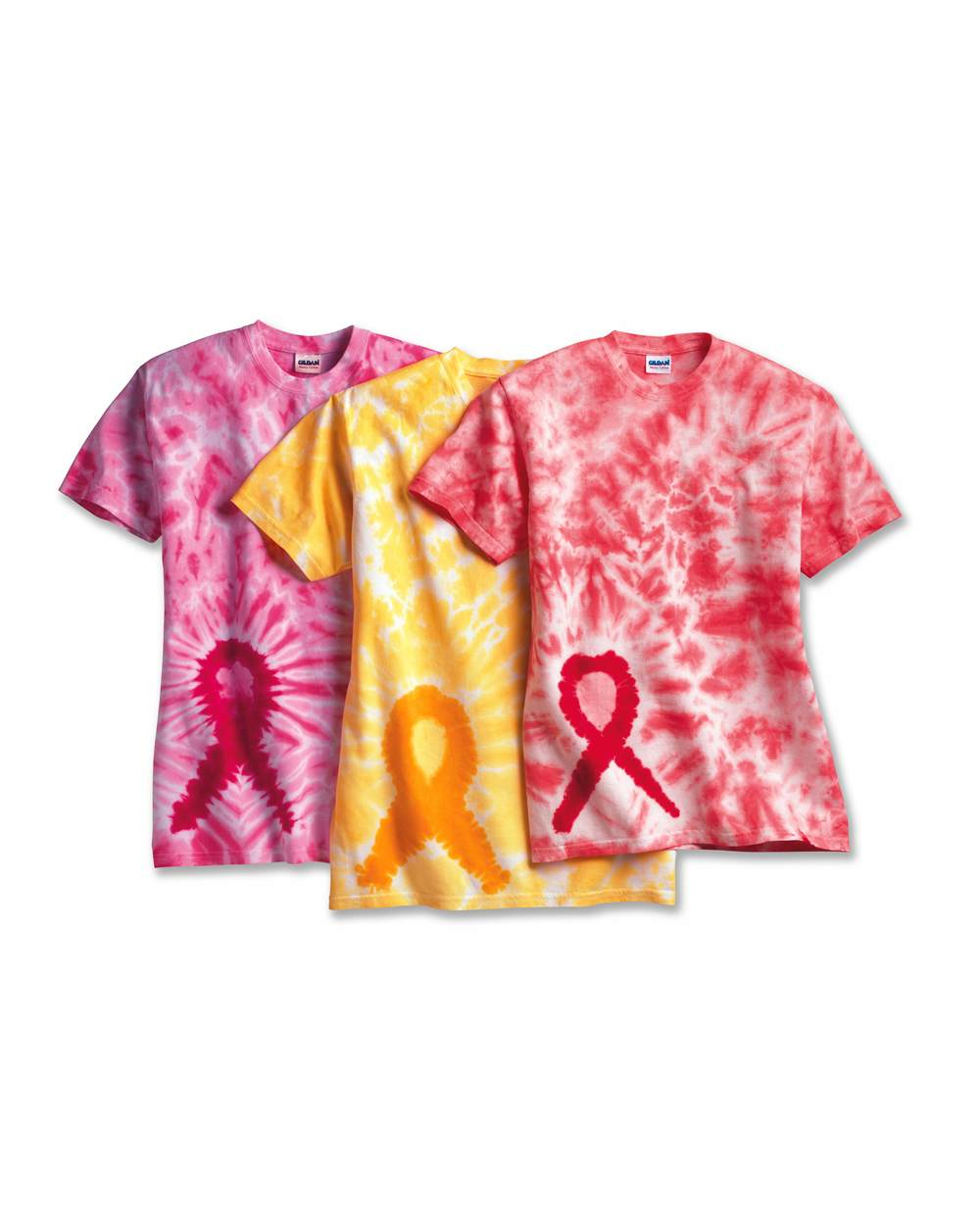 Tie-Dyed 200AR - Awareness Ribbon T-Shirt