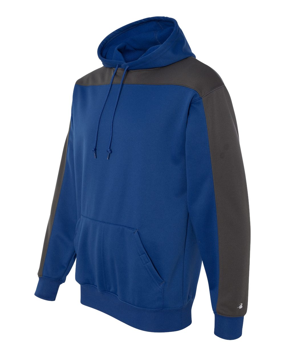 Badger 1466 - Defender Polyester Fleece Hooded Pullover