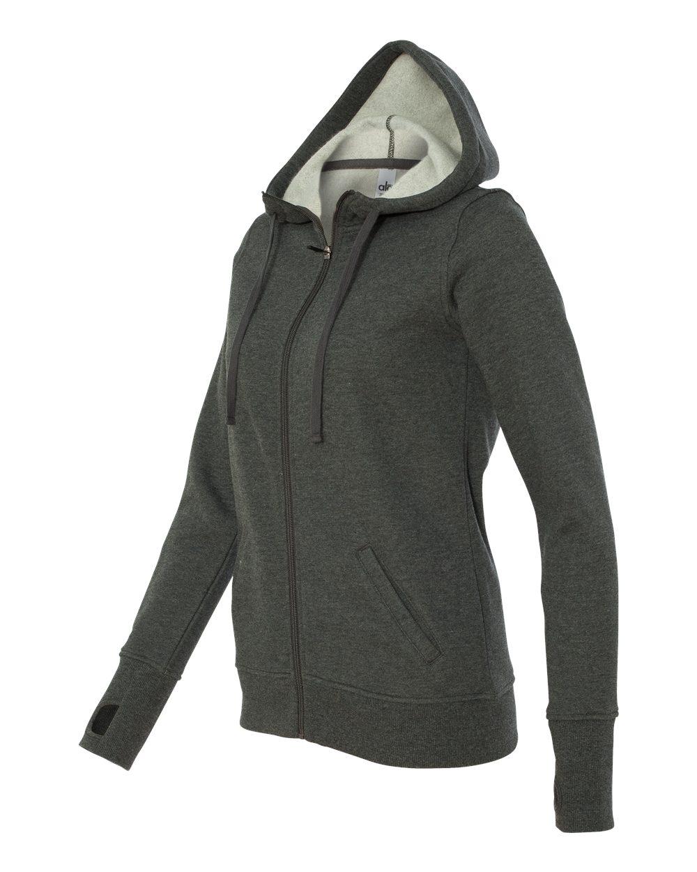 alo - Ladies' Performance Fleece Hooded Full-Zip