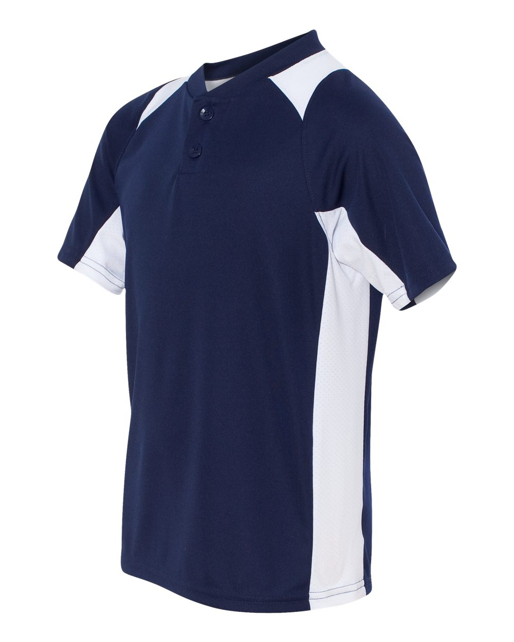 Augusta Sportswear 1521 - Youth Gamer Colorblocked Baseball Henley