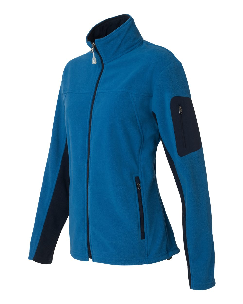 Colorado Clothing 5297 - Ladies' Colorblocked Full-Zip Microfleece Jacket