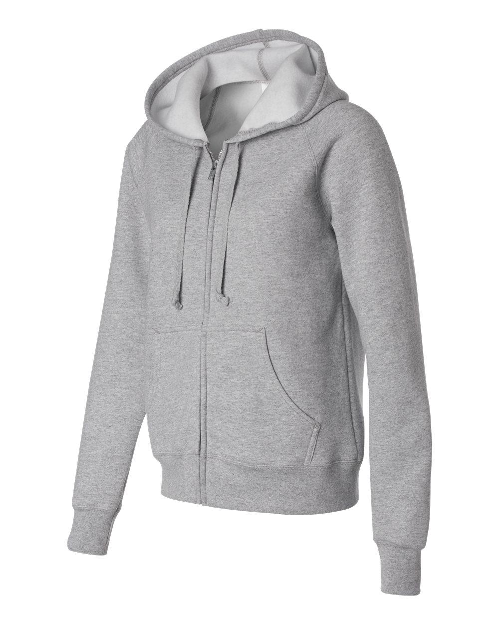 Hanes W280 - Ladies' Full-Zip ComfortBlend EcoSmart Hooded Sweatshirt
