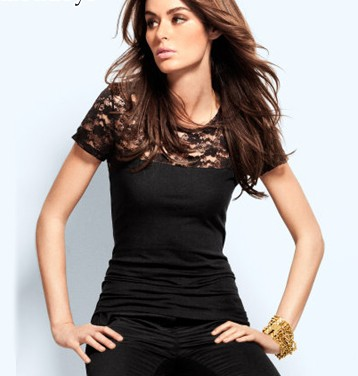 NEW FASHIONS 610286948 - Short Sleeve T-Shirt with Black ...