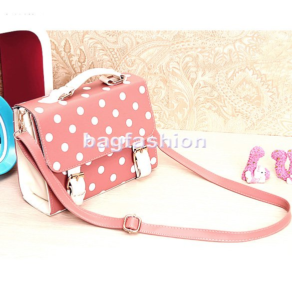 Bag Fashion 5156 - Fashion Handbag 2013 Polka Dot Satchel ...