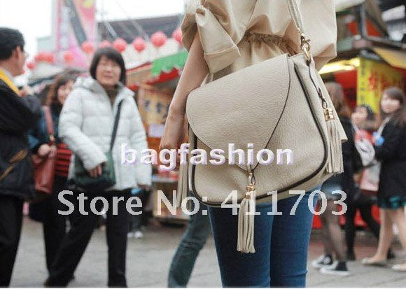 Bag Fashion 5423 - Korean Fashion Leather Handbag Handles ...