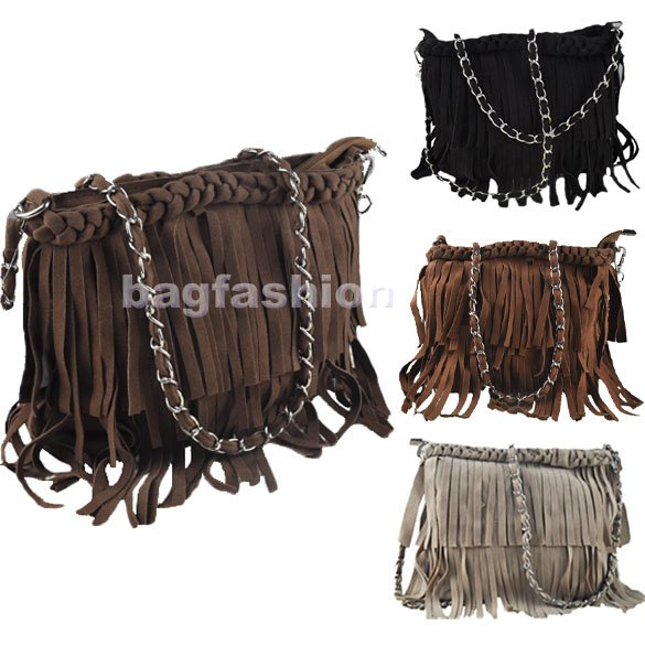 Bag Fashion 3312 - Wholesale Price Bag Suede Fringe ...