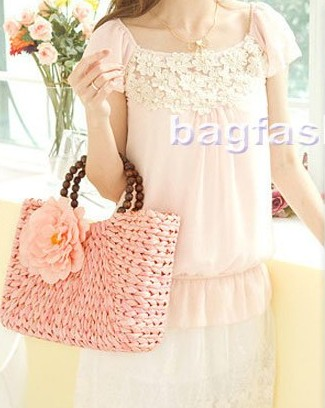 Bag Fashion 7126 - Women Handbags With Flowers Sweet ...