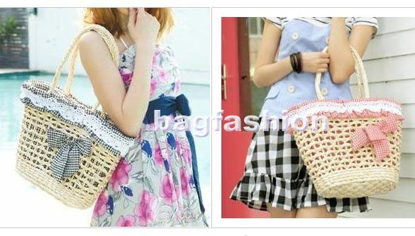 Bag Fashion 7130 - Women's Fashion Summer Straw Bag ...