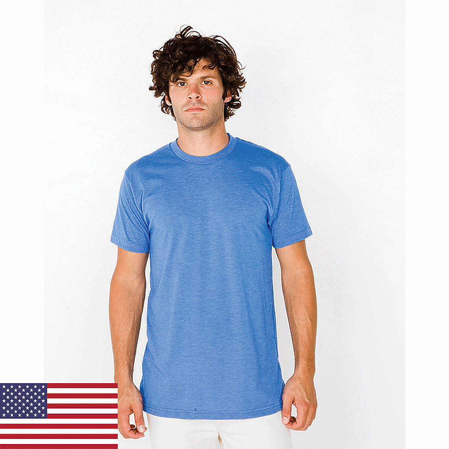 American Apparel BB401 - Adult Poly Cotton Short-Sleeve ...