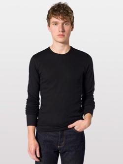 American Apparel T407 - Baby Thermal Long-Sleeve Tee