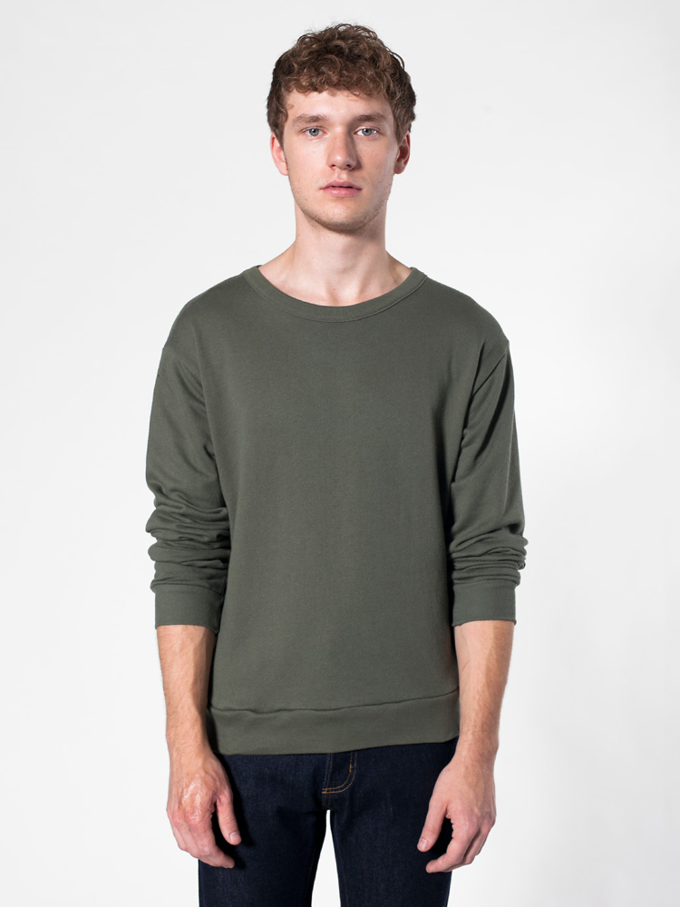 American Apparel RSAFS416 - French Terry Drop-Shoulder ...