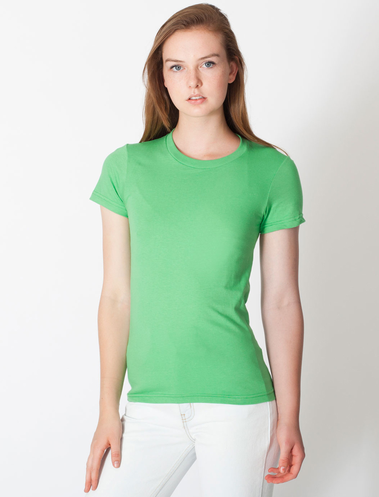 American Apparel 2102 - Ladies' Fine Jersey Tee