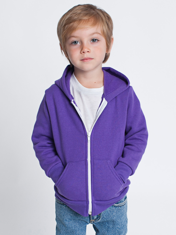 American Apparel F197 - Toddler Flex Fleece Zip Hoody