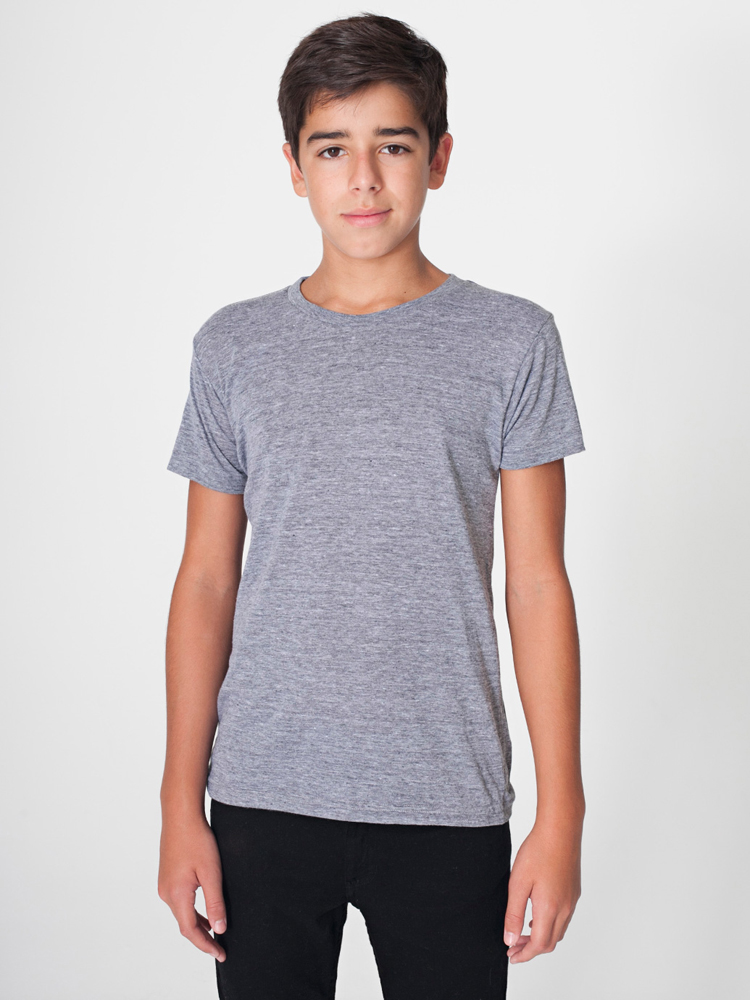American Apparel TR201 - Tri-Blend Youth Tee