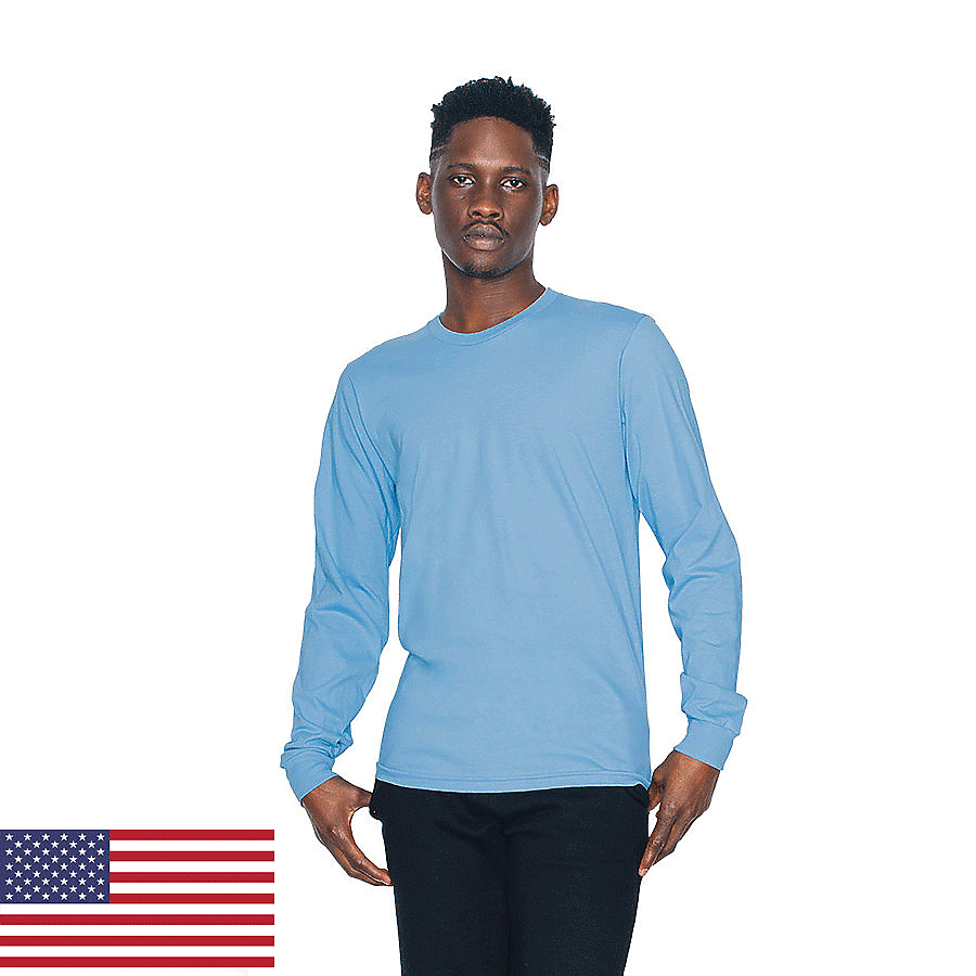 American Apparel 2007 - Unisex Fine Jersey Long Sleeve ...
