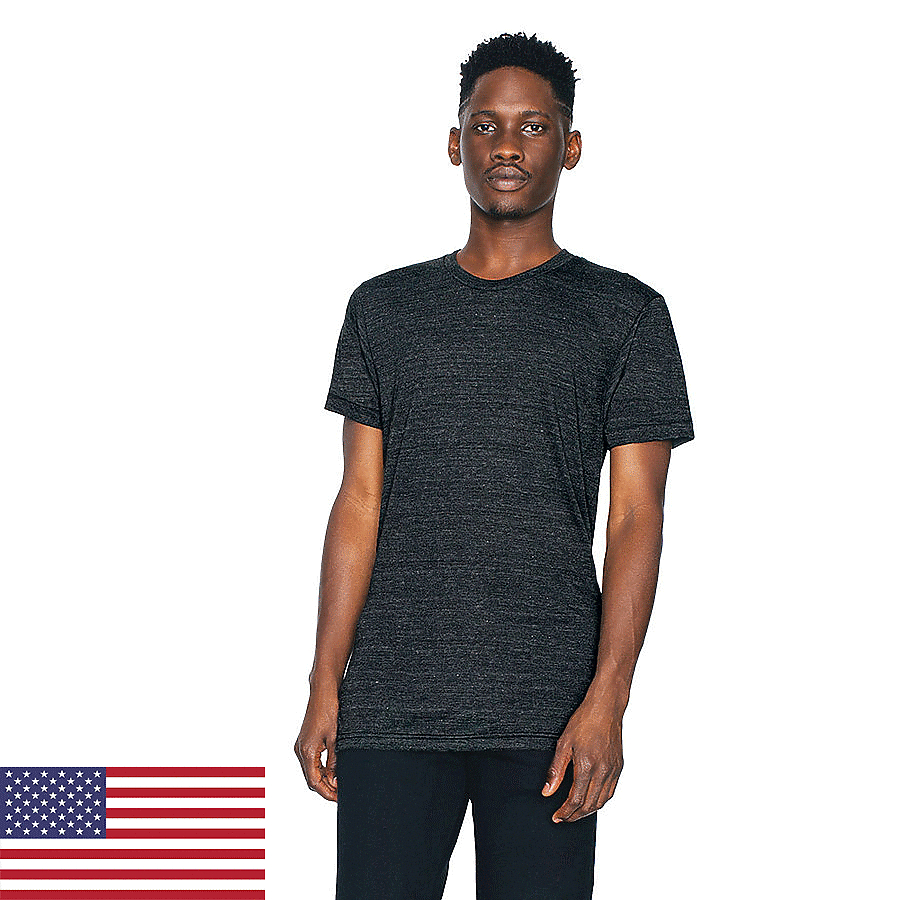 American Apparel TR401 - Unisex Tri-Blend Short-Sleeve ...