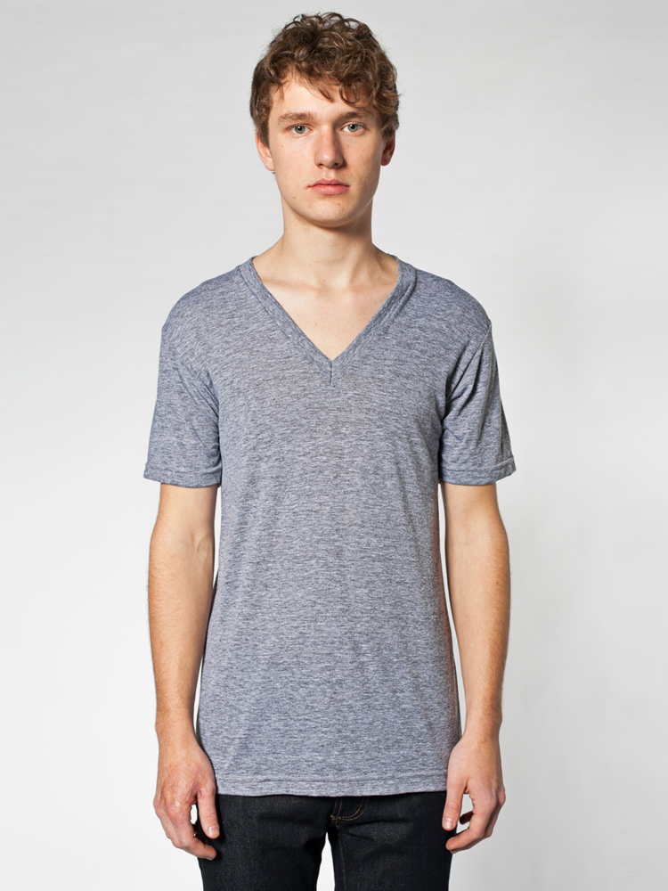 American Apparel TR461 - Unisex Tri-Blend Short Sleeve ...