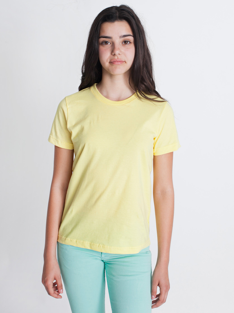 American Apparel 2201 - Youth Fine Jersey Tee