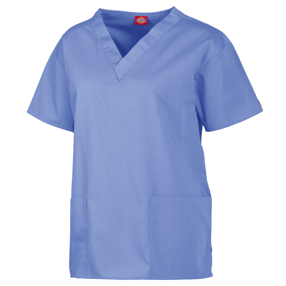 477e1aa97d4 Dickies Medical 885306 - Round Neck Snap Front Jacket $15.62 ...