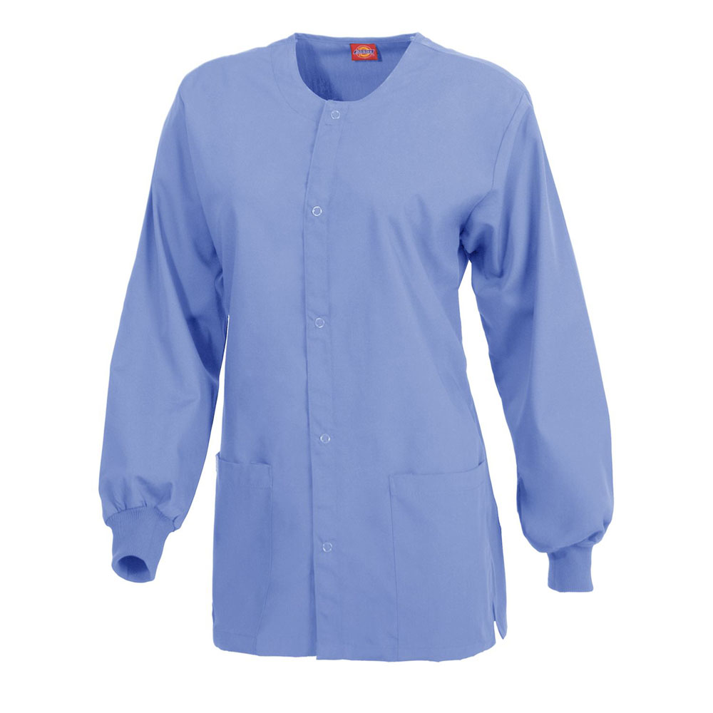 049f26c527c Dickies Medical 885306 - Round Neck Snap Front Jacket $15.62 - Women's  Outerwear