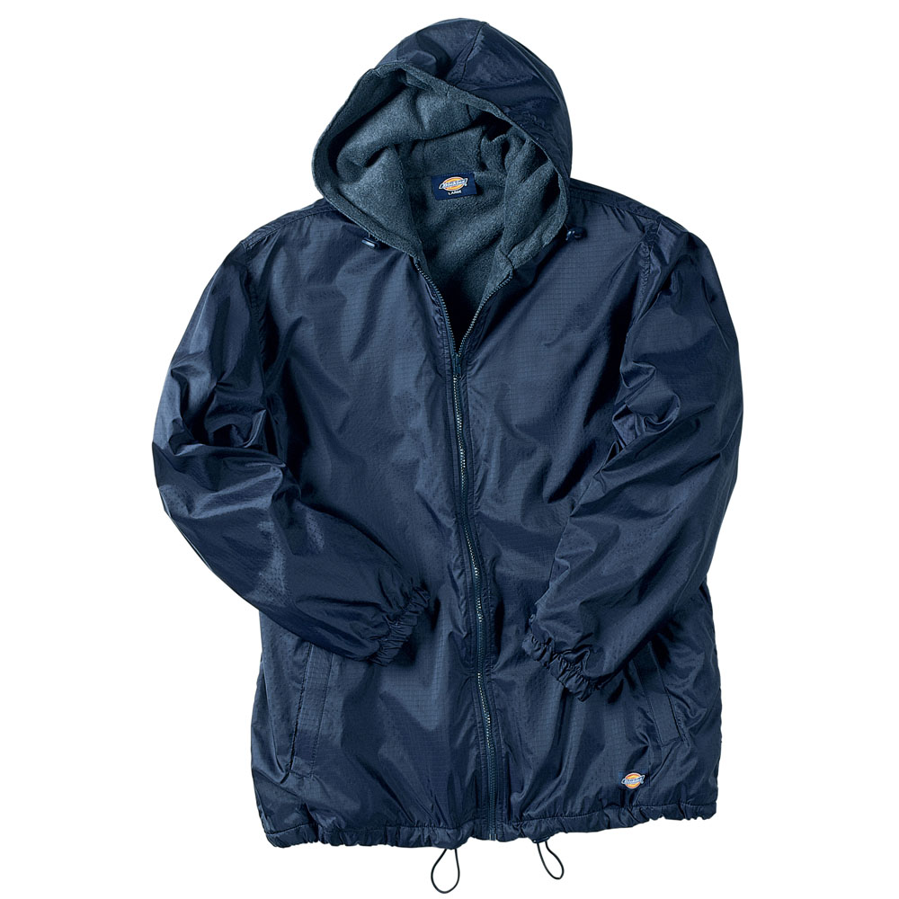 Dickies Occupational 33-237 - Fleece Lined Hooded Nylon ...