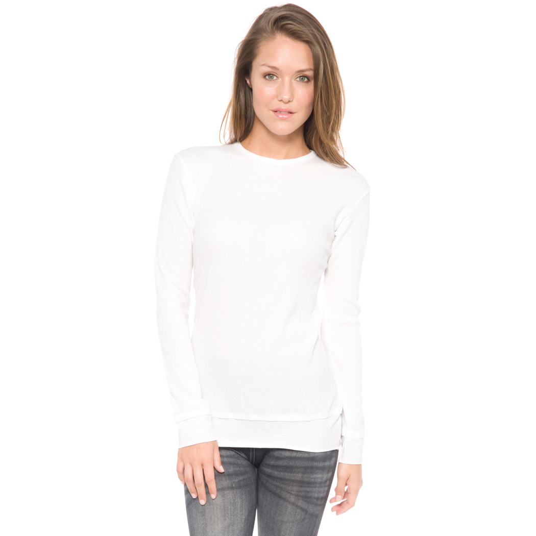 In Your Face F01 - Ladies Layered Look Long Sleeve Baby ...