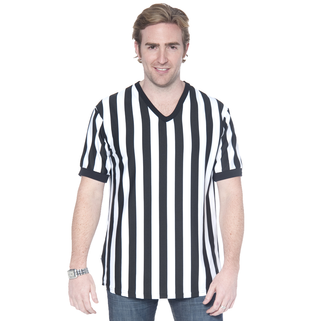 In Your Face C02 - Men's Referee Shirt with V-Neck