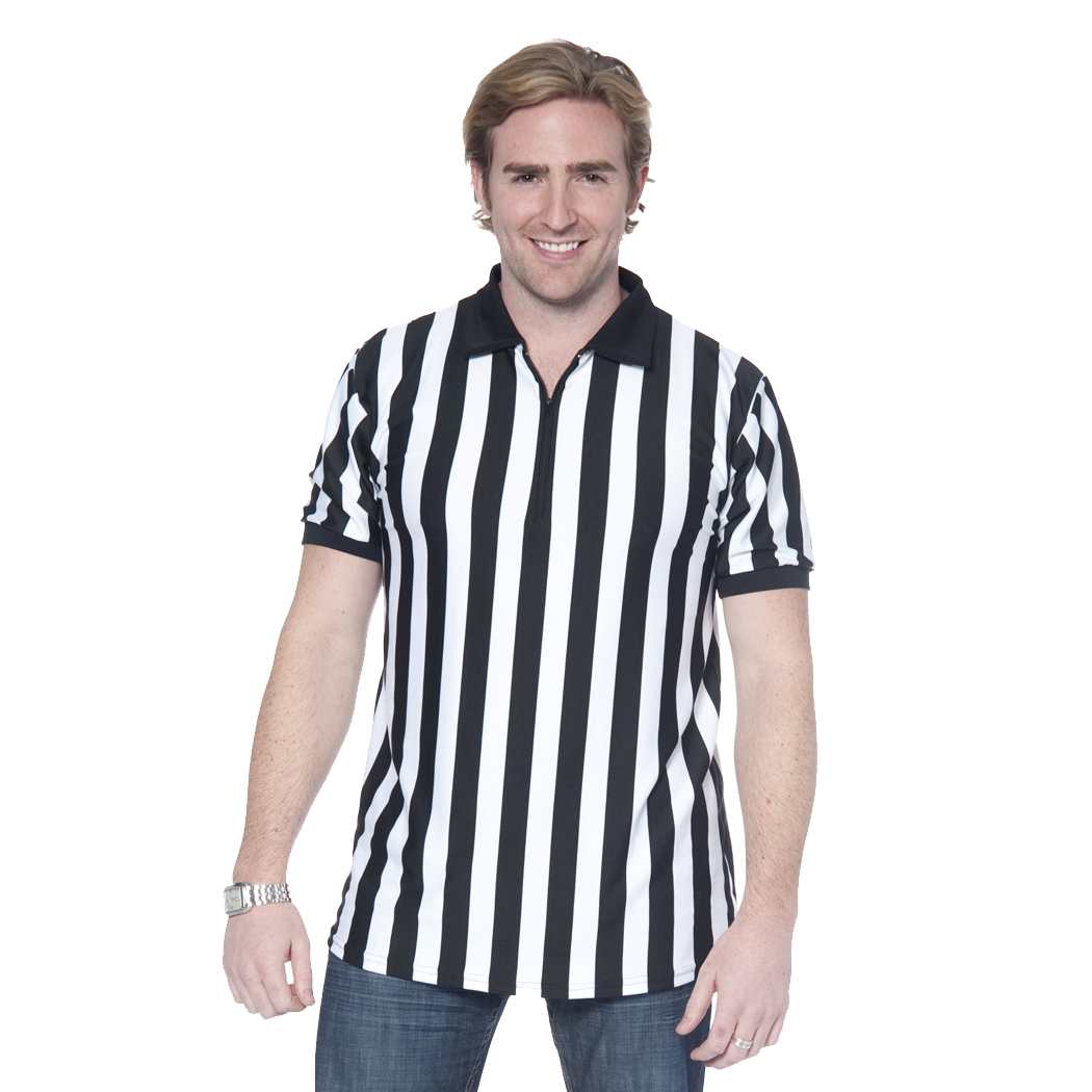 In Your Face C01 - Men's Referee Shirt with Zipper
