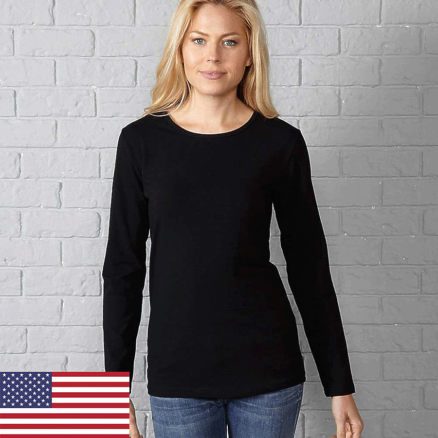 In Your Face A12 - Misses Crew Neck Long-Sleeve