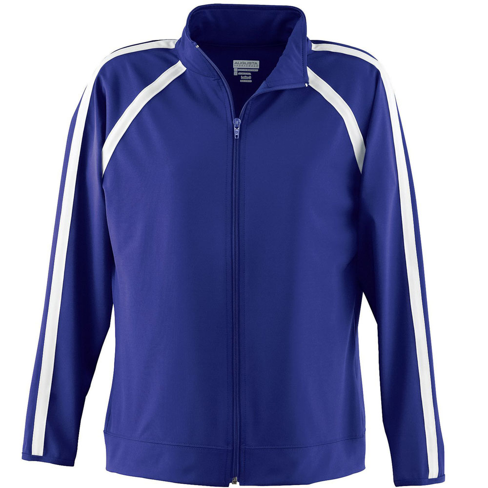 Augusta 4701 - Girls Poly/Spandex jacket
