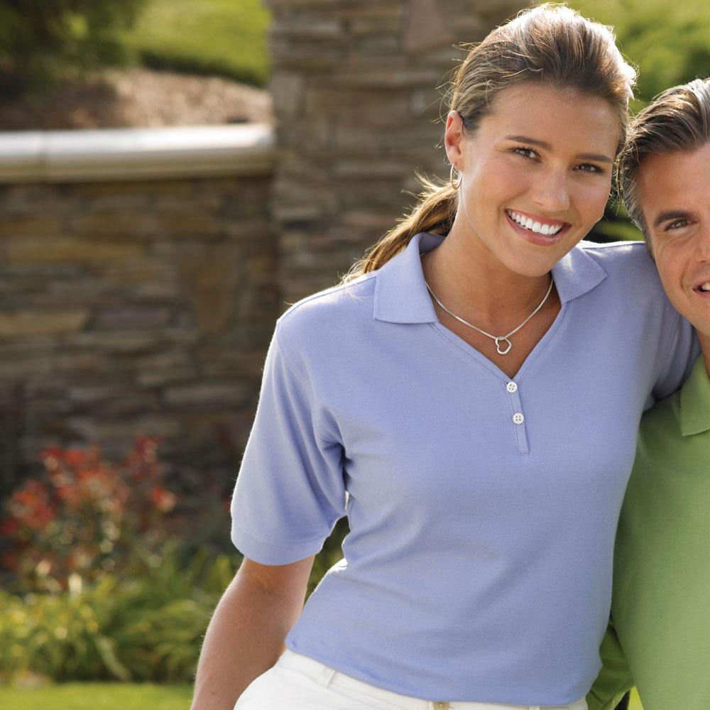Jonathan Corey 200 - Ladies Fine Pima Cotton Pique Sport Shirt