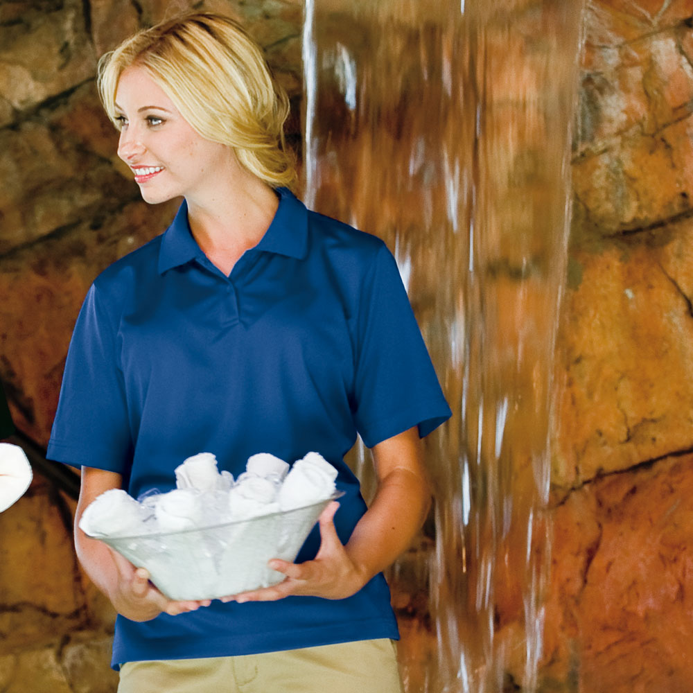 24/7 Lifestyle 361 - Womens Polyester Performance Polo