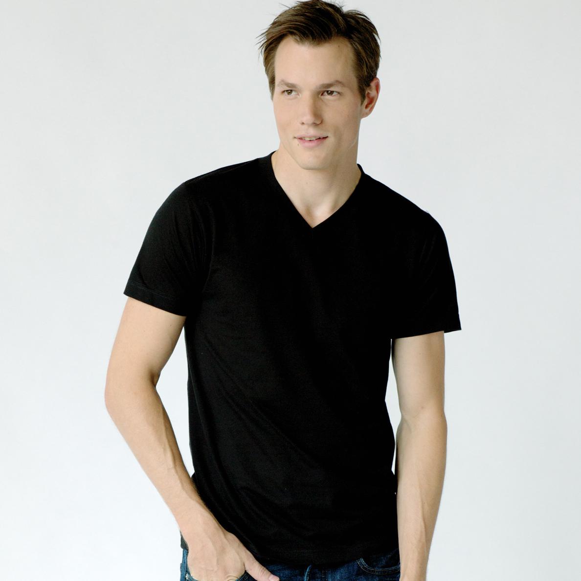 Tultex 0207 - Men s Blend V-Neck Tee  3.58 - Men s T-Shirts c9530f2f8