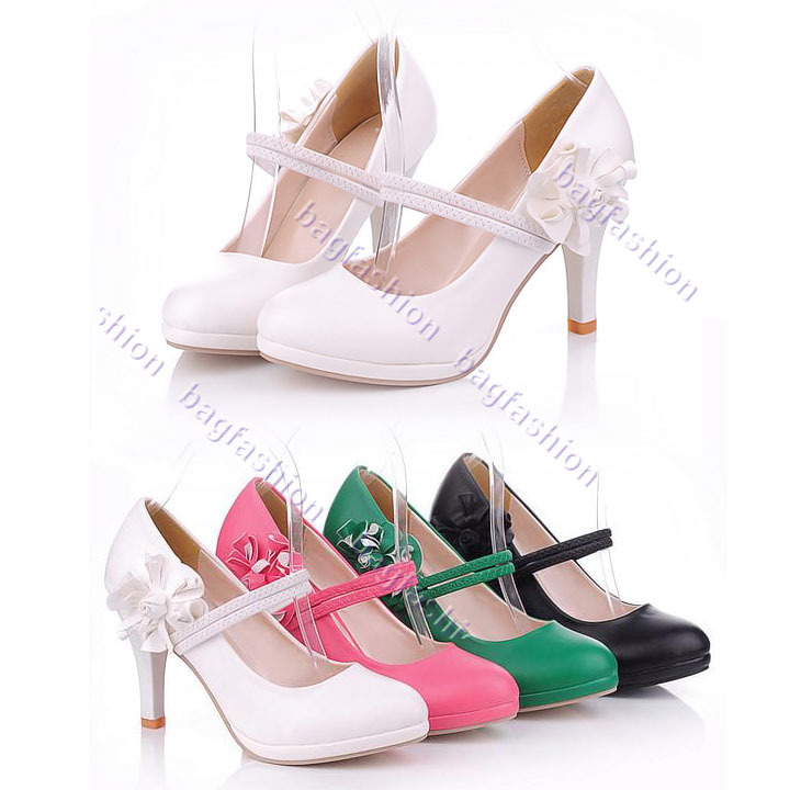 Bag Fashion 13597 - Classic Women's Wedding Pumps Fashion ...