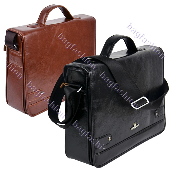 Bag Fashion 9389 - Men's Leather Briefcase Casual High ...