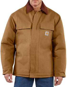 Carhartt C003 - Duck Traditional Coat/Arctic Quilt-Lined