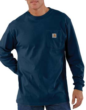 Carhartt K126 - Long Sleeve Workwear Pocket T-Shirt
