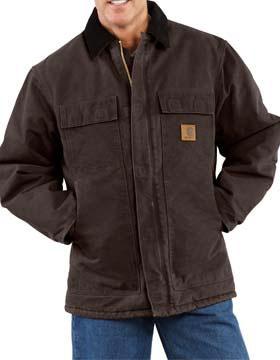 Carhartt C26 - Sandstone Traditional Coat/Arctic Quilt ...
