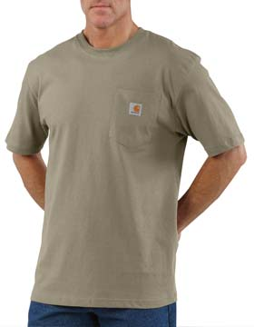 Carhartt K87 - Short Sleeve Workwear Pocket T-Shirt