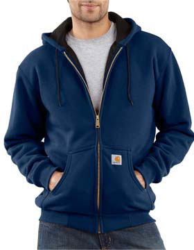 Carhartt J149 - Thermal Lined Hooded Zip Front Sweatshirt