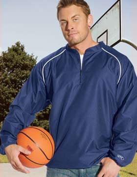 Kariban RP9715 - Quarter Zip Pullover Jacket With Piping