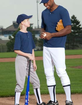 Majestic 854Y - Youth Pull Up Baseball Pant