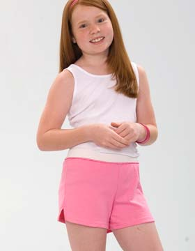 Soffe B037 - Girl's Authentic Soffe Short