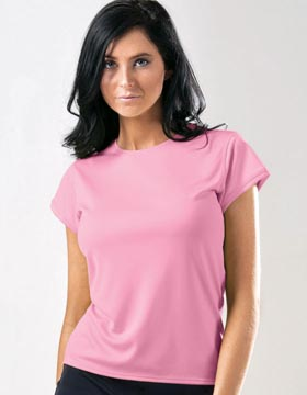 Zorrel Z5053 - Women's Boston Cap Sleeve Training T-...