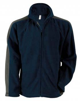 Kariban K910 - Ben Bi-Color Micro Polar Fleece Jacket