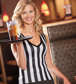 Brightline RSPV - Ladies Sleeveless Referee Tee