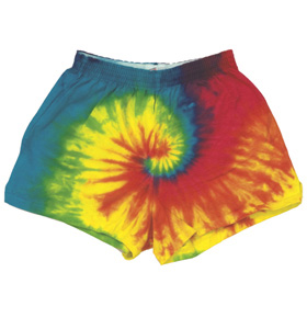 Colortone T4001 - Multi Color Tie Dye Soffe Shorts