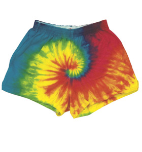 Colortone T4001Y - Multi Color Tie Dye Soffe Youth Shorts
